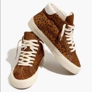 MADEWELL Sidewalk High-top Sneakers In Spot Dot